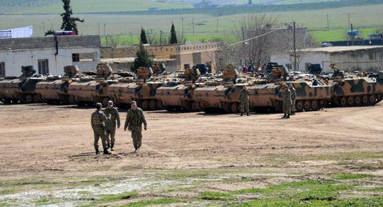 Turkish invasion Syria