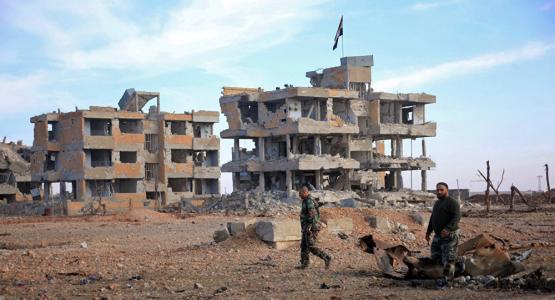 Aleppo or cemetery?