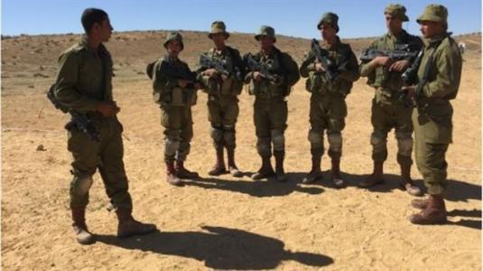 Αραβες στρατιώτες  Ισραήλ