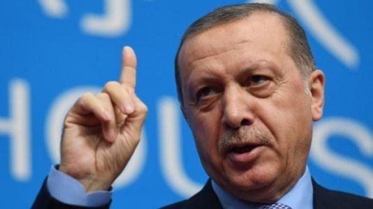 "Erdogan ΕΕ  ""Σαγκάη 5"""