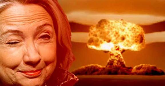 Hillary Clinton Nuclear Doom