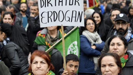 Κούρδοι Ερντογάν