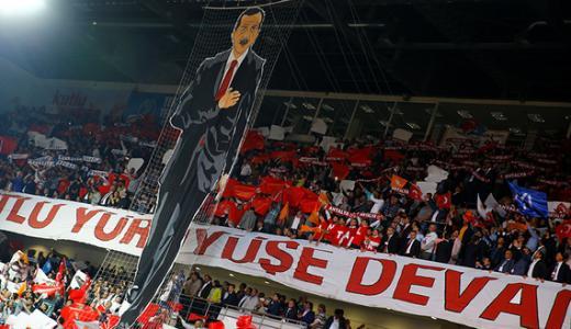 Pro Erdogan rally