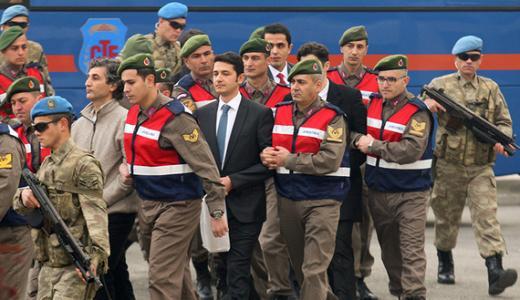 Turkey coup defendants