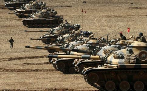 Turkish tanks
