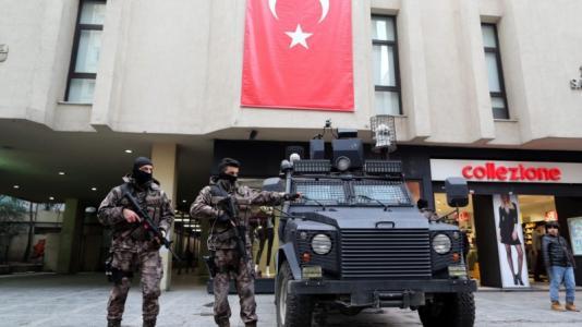 Τουρκία καταστολή ελευθεριών