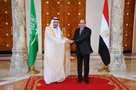 King Salman Abdel Fattah al-Sisi