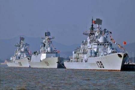 Warships South China Sea