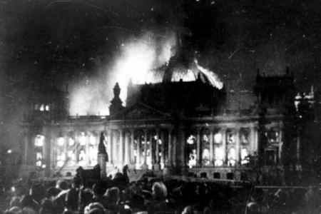 Trump 'Reichstag Fire'