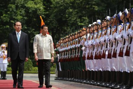 Trần Đại Quang Rodrigo Duterte
