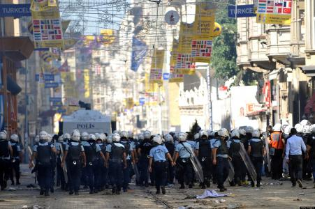 Turkey unrest