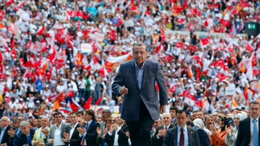 Erdogan public speech