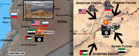 US & Russia  Palmyra
