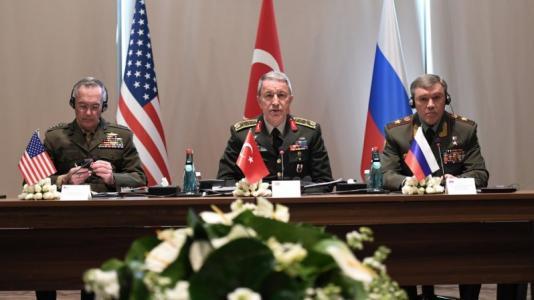 Ηνωμένες Πολιτείες, Ρωσία Μέση Ανατολή